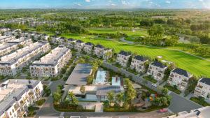 Các sản phẩm trong khu đô thị nghỉ dưỡngWest lakes golf & villas
