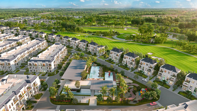 Điểm nổi trội thu hút đầu tư của dự án biệt thự West Lakes Golf & Villas
