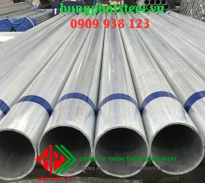 Ống thép đúc mạ kẽm phi 168 DN150 dày 10.97mm